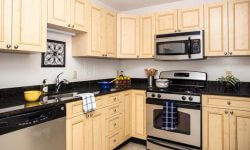 Topaz House Apartments Downtown Bethesda - Kitchen Layout