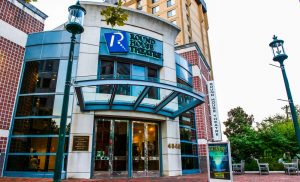Round House Theatre near Topaz House Apartments in Downtown Bethesda, MD