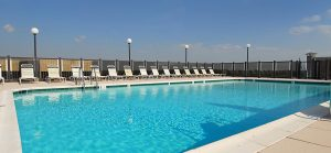 Topaz House Apartments Rooftop Pool