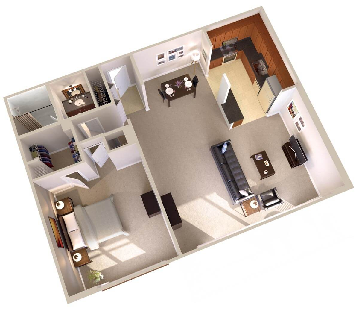 One bedroom apartments in bethesda md topaz house apts for Floor plans for one bedroom apartments