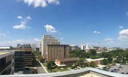 Topaz House Rooftop View Overlooking Bethesda and Silver Spring MD