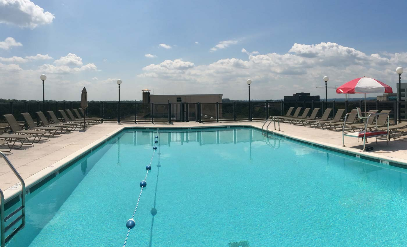 Topaz House Rooftop Swimming Pool - A Free Amenity