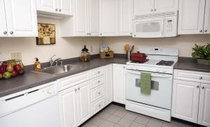 Topaz House Apartments Kitchen