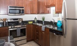 Topaz House Kitchen With Stainless Steel Appliances and Granite Countertops