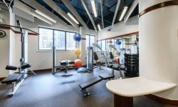 Topaz House fitness center