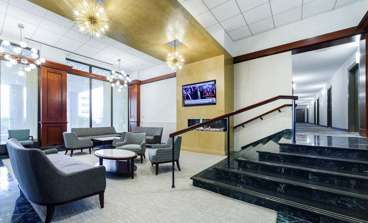 Topaz House lobby